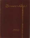 Brown and Gold Yearbooks